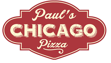 PAUL'S CHICAGO PIZZA LOGO